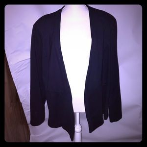 Navy blue 3x Tart Collections blazer plus size